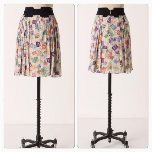 Anthropologie Dresses & Skirts - Anthropologie Airmail Skirt by Edme & Esyllte